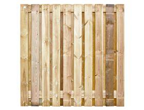 Tuinscherm Grenen - Geschaafd - 180x180 cm - 21 planks