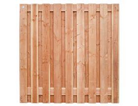 Tuinscherm Douglas - Geschaafd - 180x180 cm - 19 planks