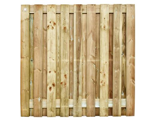Tuinscherm Grenen - Geschaafd - 180x180 cm - 19 planks