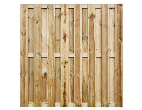 Tuinscherm Grenen - Geschaafd - 180x180 cm - 15 planks
