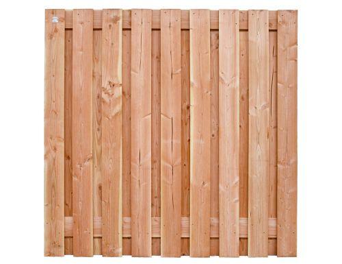 Tuinscherm Douglas - Ruw - 180x180 cm - 19 planks